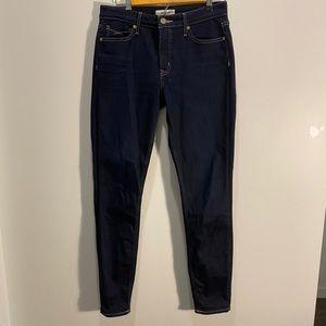 Revtown women's skinny stretch dark jeans TALL